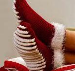 Socken und Stulpen