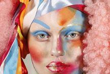 Креативный макияж в стиле Alex Box