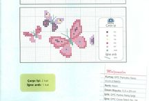 Cross Stitch ~ Butterflies & Dragonflies