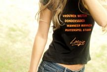 Loesjes dameskleding / http://shop.loesje.nl/kleding/dames
