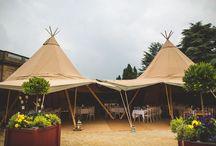 Tipi Wedding Ideas & Styling / Tipis at weddings