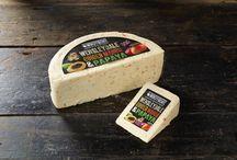 Wensleydale with Mango, Ginger & Papaya Cheese by Windyridge Cheese Ltd / Wensleydale with Mango, Ginger & Papaya Cheese by Windyridge Cheese Ltd