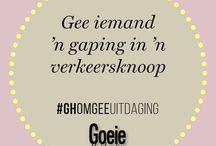 GH Omgee Uitdaging / #GHOmgeeUitdaging / by Good Housekeeping
