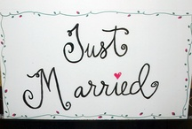 ~Wedding Calligraphy by Me~ / All hand lettering done by Lynda at Write Away For You ~~~ writeawayforyou.com