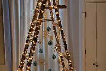 CREATIVE CHRISTMAS TREES / Not your standard Christmas trees.