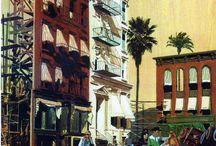 Vintage travel posters / Illustrations voyages