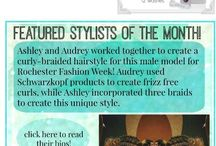 Featured Stylist of the month / We feature a look by our stylist at la salon Bianca every month