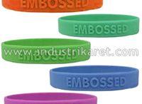 Gelang Karet | Rubber Wristband / Gelang Karet | Rubber Wristband