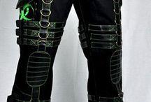 Mens Biohazard Clothing / Mens Clothing with Biohazard Symbols on it!!