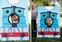 Anders turns TWO / Allergy Friendly birthday train party / by Sarah Gregson