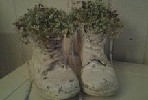 schoenen met muurvuller