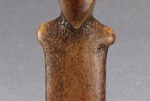 ameriques sculptures têtes