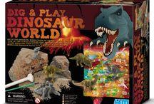Dig a Dinosaur - Dig a Dino Kits / Dinosaur dig kits for kids, dig a dinosaur kits for children.