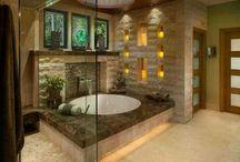 Master bathroom / by Lindsey Parsons Maiolino