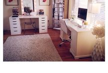 Office/Vanity Room / by Moonshine Beauty