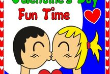 VALENTINE'S FUN TIME / This new pack brings a lot of FUN activities.. I challenge you to give it a try!  Powerpoint game, flashcards, board game, memory game, matching game, bingo, ... and many more http://eslchallenge.weebly.com/valentines-fun-time.html