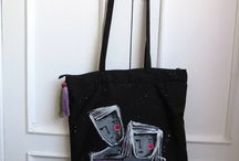 When we're two BAG / Tote Bag Couple