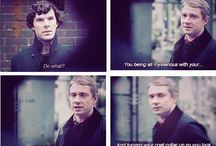 johnlock / not even sure if I ship them but It's amazing... literally they are made for each other  Funny cause it's true