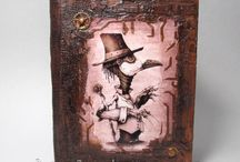 Блокноты / Блокноты ручной работы. Выбрать и заказать можно здесь: http://handart.com.ua/product-category/bloknoty/