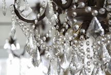 Lighting: Crystal chandeliers / Crystal Chandeliers and matching wall lights.