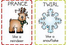 Preschool Theme: Christmas/Winter