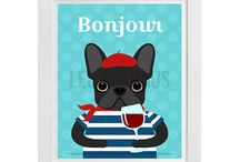Lee ArtHaus French Bulldog Products / Lee ArtHaus French Bulldog Products