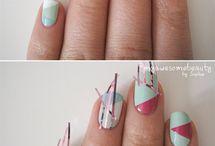 manos. uñas