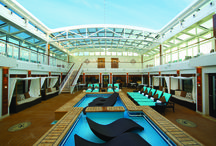 Luxury Cruising / Your cruise can be extra special when booking a suite or taking a luxury cruise.
