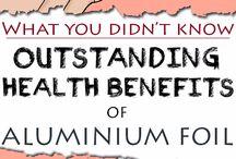 Aluminium foil health benefits