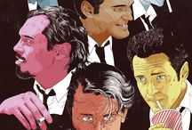 Quentin T / Posters and graphics illustrating Quentin Tarantino films.  / by Melody Dodd