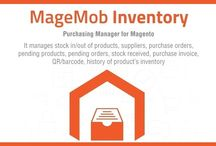 MageMob Inventory - A Magento Inventory Management / Manage stocks, warehouses and suppliers on-the-go, allowing you to ensure no stock-outs or unwanted order cancellations. It is a combo of a Magento Extension & Android & iOS based mobile app that simplifies your inventory management woes.