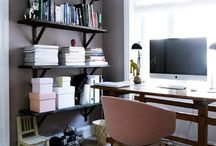 home office ideas / by Anna Harkness