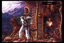 jesus helguera--pintor mexica