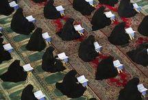 وبحلم باليوم اللى هنشوف فيه جميع نساء المسلمين يتدارسون كتاب الله وينشرون العفة فى كل مكان كفايا ذنوب
