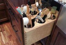 KITCHEN STORAGE / Types of Kitchen storage.