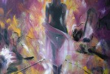 My painting / mie opere realizzate nel corso del tempo.