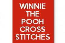 Winnie The Pooh Cross Stitches