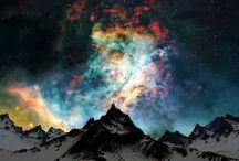 Clouds  & aurora