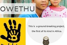 Owethu / Owethu, meaning 'ours' allows us to address 'our health, our life', and is dedicated to assisting and improving the delivery and access of primary healthcare in rural communities. http://owethu.co.za/press-release
