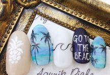 Sea Nails Inspirations - Morski Manicure Inspiracje