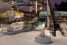 verlaten waterparken