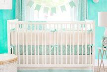 Mint Baby Bedding & Nursery Inspiration