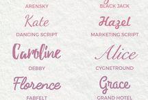 fonts handwriting