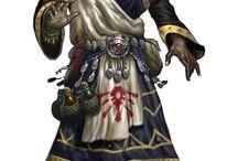 Human Male Sorcerer