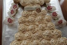 Bridal Shower Cupcakes / House of Cupcakes for all your bridal shower needs.