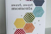 Hexagon stamp set