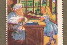 Alice in W: Stamps / Alice in Wonderland stamps