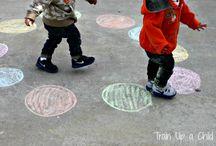 kids craft - outdoors