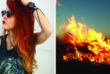 Hair on fire