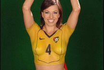 Body Painting Soccer balls